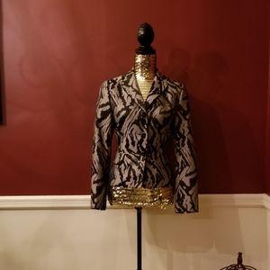 Le Suit Printed Blazer